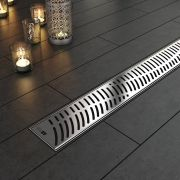 Linear Shower Drain Onda