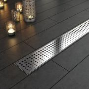 Linear Shower Drain Plaza