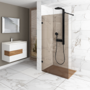 Setto Nero Shower Screen