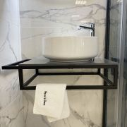 Lusso Dark Bathroom Countertop