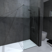 UnoBox XL Shower Screen