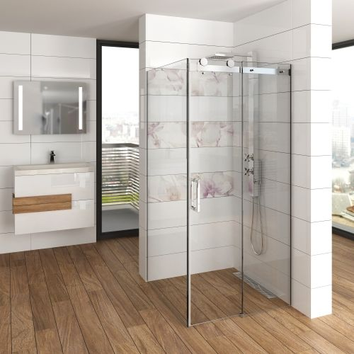 Glass Shower Enclosure Multislide Classica