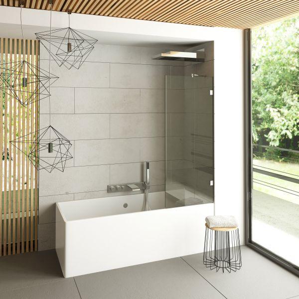 Primo Glass Bath Screen 6 mm