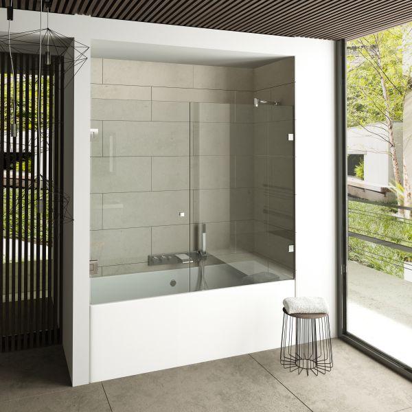 Linea Glass Bath Enclosure 6 mm