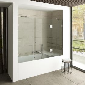 Trippio Glass Bath Enclosure 6 mm