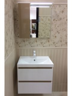 Bathroom LED Mirrored Cabinet Stella