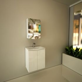 Bathroom Mirrored Cabinet Mona