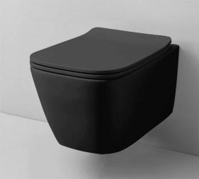 the.artceram A16 Black Hung Toilet