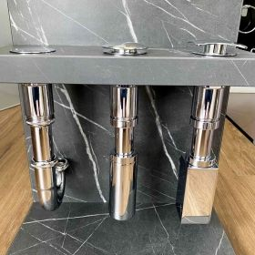 Quadro washbasin waste