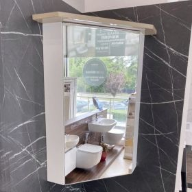 Vivid Corner Mirrored Enlighten Cabinet