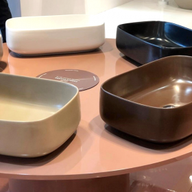the.artceram Cognac Quadro Washbasin