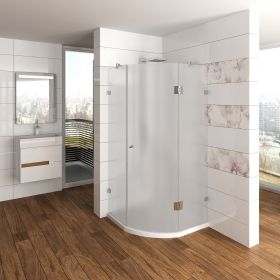 Ovale Glass Shower Enclosure 6 mm
