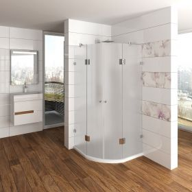Ovale+ Glass Shower Enclosure 8 mm